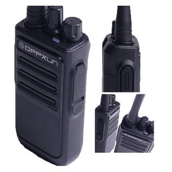 OPPXUN OPX-338 Walkie Talkie UHF 400-470 MHZ Portable Ham Radio Station 8W Long Range for Hunting Telsiz Two Way Car Cb Radio 5