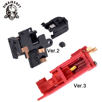 Heat black Resistance Switch Electric Paintball shooting Hunting accessories For Airsoft AEG Version 2/3 Gearbox