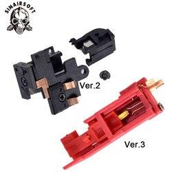 Interrupteur de résistance noir de chaleur accessoires de chasse de tir au Paintball électrique pour boîte de vitesses Airsoft AEG Version 2/3