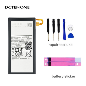DCTENONE Top quality Battery EB-BA320ABE 2350mAh For Samsung Galaxy A3 2017 SM-A320 A320F Replacement Batteries + Free Tools image