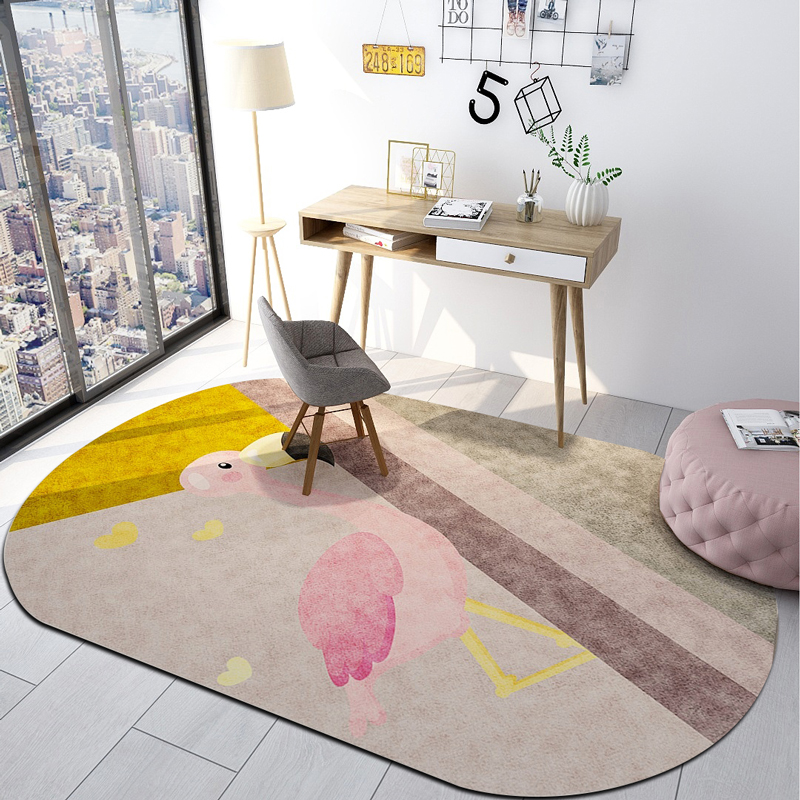 Floor Rug Carpet Bedroom Office Chair