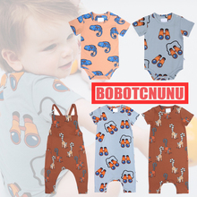 CarlijnQ 2020 Newborn Baby Rompers Summer Clothing Lovely Ca