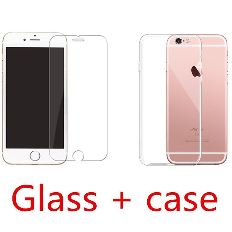 Чехол для телефона s для iPhone 5 6 7 X XS max XR 11 pro max чехол, мягкая прозрачная силиконовая прозрачная задняя крышка для iPhone 6S 7 8 Plus чехол - Цвет: set