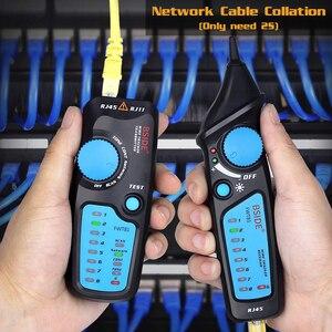 Image 3 - Detector de cable de red, FWT81, RJ11/45, Lan, Ethernet, teléfono, probador de cables, herramienta de telecomunicaciones, trabajo electrificado, 48V