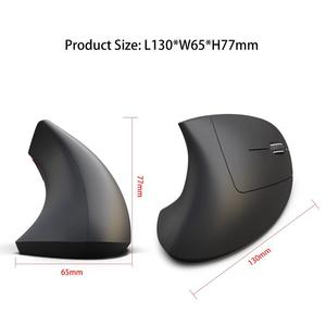 Image 5 - Wireless Bluetooth Mouse Gaming Vertical Ergonomic Gamer Kit 6 Key USB Optical Air Wirless Mause For PC Laptop Computer Notebook