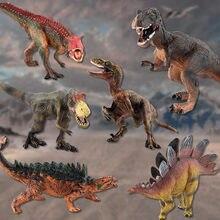 Figuras de ação e brinquedo modelo novidade simulado dinossauro animal figuras de ação realista crianças brinquedo interativo # c