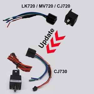 Image 2 - מיני GPS Tracker רכב אופנוע האחרון CJ720 CJ730 Builtin סוללה קרוואן הלם אזעקה מנותק שמן GPS Tracker GSM איתור