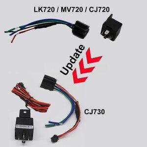 Image 2 - Mini gps para motocicleta, mini rastreador gps para carro e motocicleta, bateria de reboque embutida, alarme de choque, corte de óleo, rastreador gps gsm localizador de localizador