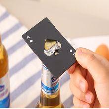 Ace of spades открывалка Кредитная карта открывалки Портативный