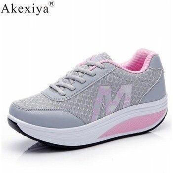 Akexiya-zapatos Deportivos para mujer, zapatillas para correr, 2019