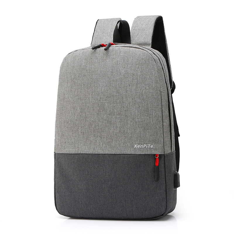 14 Inch Laptop Backpack USB Charging Anti Theft Backpack New Men's Backpack Waterproof School Bag Mochila image