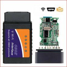 Elm327 leitor de código wifi obd2 obdii scanner diagnóstico do carro ferramenta leitor de código