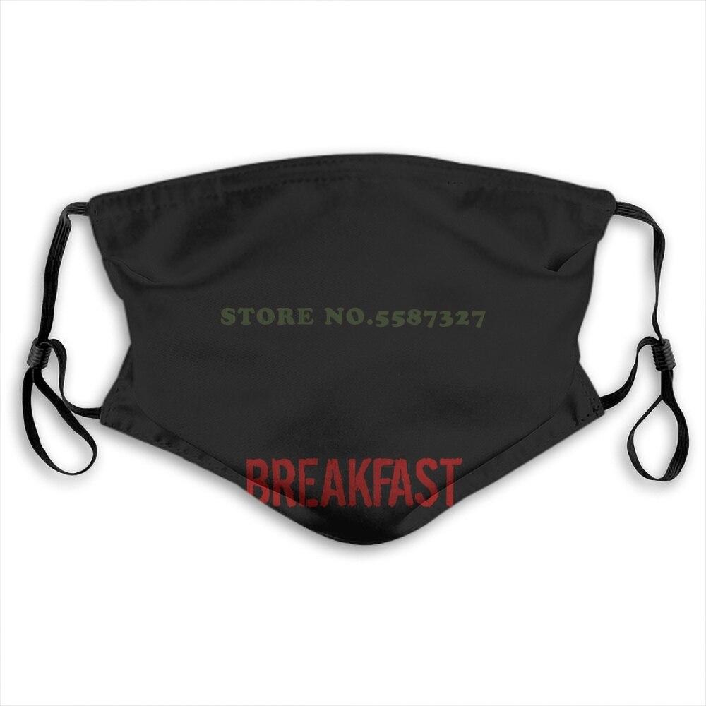 Face Mask Pinochet I Eat Commies For Breakfast White Fashion Funny Design White Black Reusable Protective Masks
