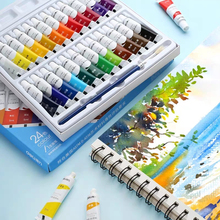 Painting Pigment Color-Set 6ml-Tubes Drawing Artists Professional for 12/18/24-colors