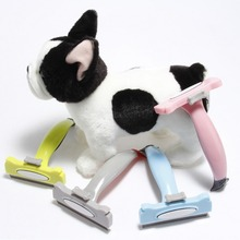 Pet Dog Cat Hair Trimmer Grooming Clipper Hair Remover Shaving Automatic Cleaning Loose Hair New Qgnv