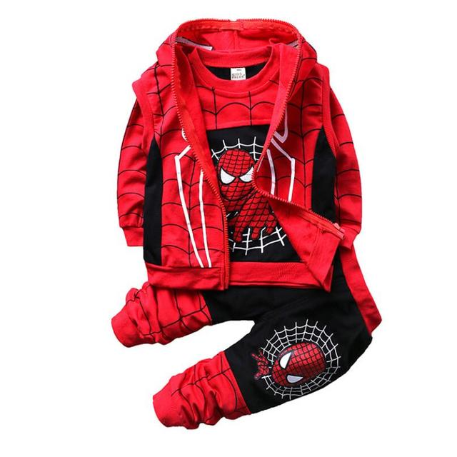 Baby Spiderman Clothing Sets -Costumes Kids Clothes 3pcs  2