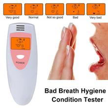 Unit Bad-Breath-Detector Portable with Advanced Semiconductor Gas-Sensor Condition-Tester