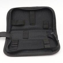Черный Мульти-функциональные часы из плотной ткани ремонт Портативный инструмент сумка для хранения на молнии