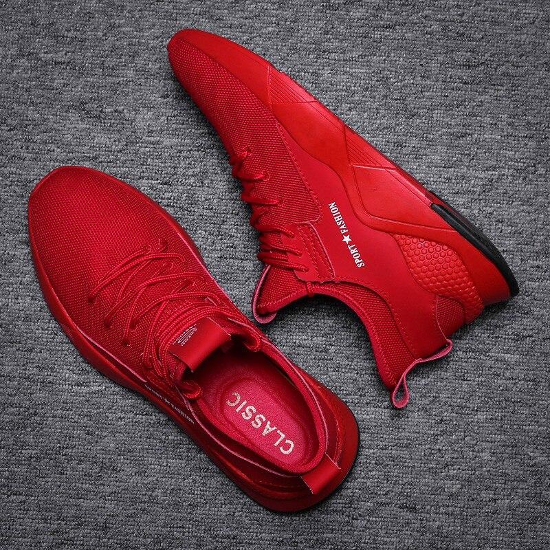 Новинка 2020 года; мужская повседневная обувь из сетчатого материала; Мужская обувь; легкие удобные дышащие Прогулочные кроссовки; Tenis masculino Zapatillas Hombre on AliExpress