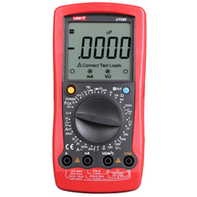 UNI-T UT58E Digital Multimeter AC DC Voltmeter Full Icon LCD DisplayTemperature Frequency Capacitance Diode Transistor