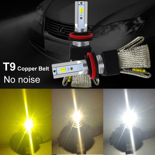 3000K 4300K 6000K H7 Đèn Pha Ô Tô H4 H7 H11 Bóng Đèn LED LED CPS Kiểu Dáng Xe Đèn lampada LED Cho H1 9006 HB4 9005 HB3 H11