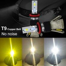 3000k 4300k 6000k led h7 carro farol h4 h7 h11 led lâmpada cps estilo do carro lâmpadas lampada led para h1 9006 hb4 9005 hb3 h11