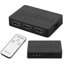 Switch Splitter Video Converter Audio-Adapter 3-Input HD Computer 1-Output 1080P Hd-Port