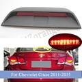 MIZIAUTO High Mount Stop Signal Bremsleuchte Für Chevrolet Cruze 2011 2012 2013 2014 2015 Hinten Schwanz Warnung Lampe Auto zubehör