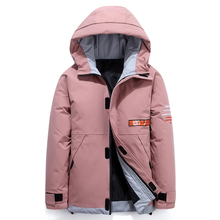 Teens New Men #8217 s Down Jacket Stylish Male Down Coat Winter Thick Warm Man Clothing Brand Men #8217 s Apparel Warm Parka 1926 cheap JUNGLE ZONE Thick (Winter) L1926 REGULAR Casual zipper Full Letter Denim NONE Button Pockets Zippers Appliques Polyester