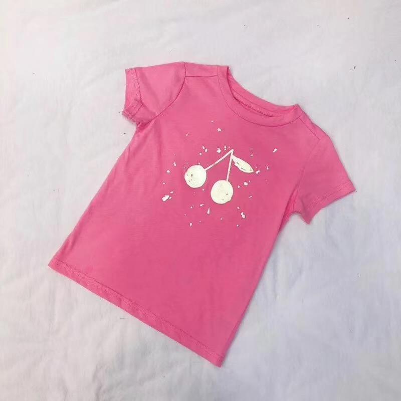 Many Styles Summer Kids T-shirt Baby Girls Clothes Boys T-shirt 100% Cotton Short-sleeve Baby Tops