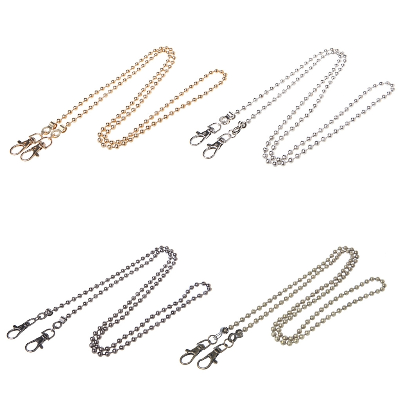 1 Pc Metal Purse Chain Straps Handle Shoulder Crossbody Bag Replacement Handbag DIY Bag Accessories