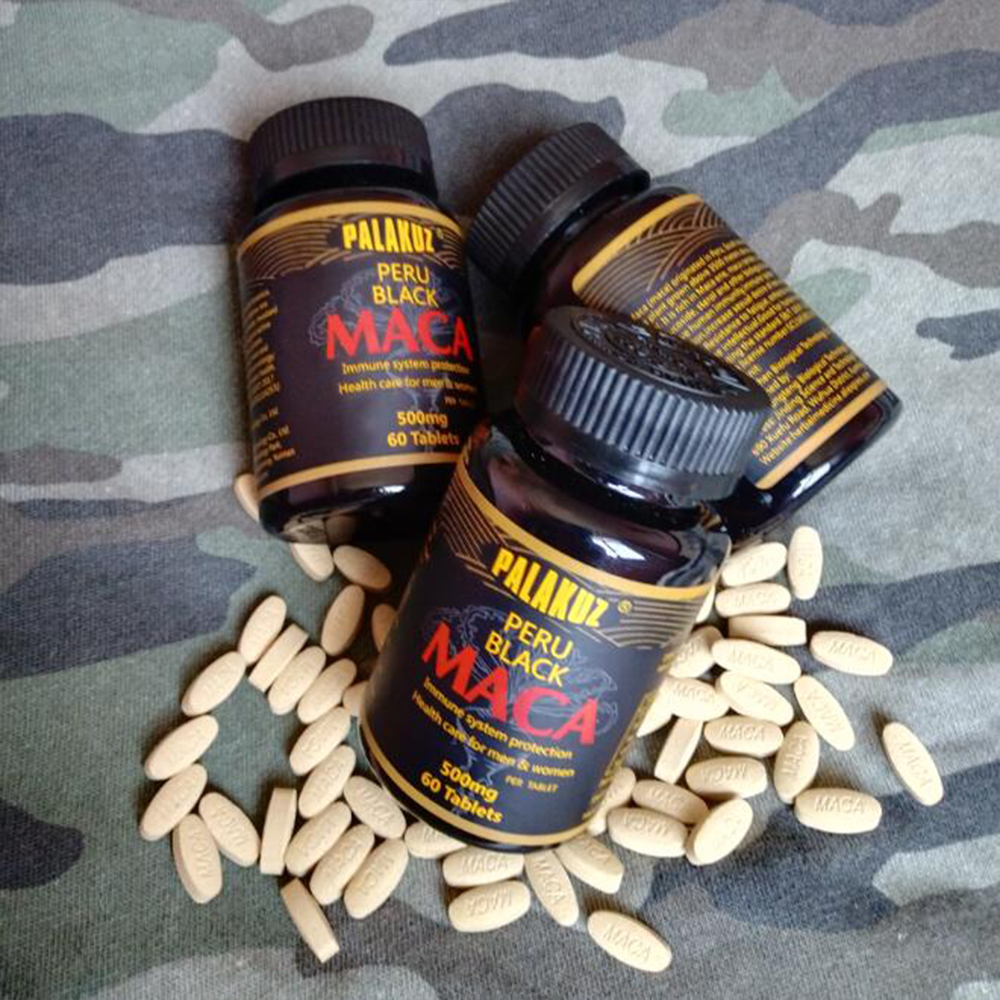 Peruvian black Maca Root Extracts Resist fatigue increase energy Bigger Breast Butt And Hips Enlargement Health sexual desire 5
