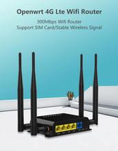Zbt 300 Мбит/с 4g lte роутер sim карта vpn pptp l2tp модем wi