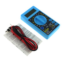 DT-830B Multimeter LCD Auto Range Digitale Voltmeter  AC/DC 750/1000 V Amp Volt Ohm Tester Meter