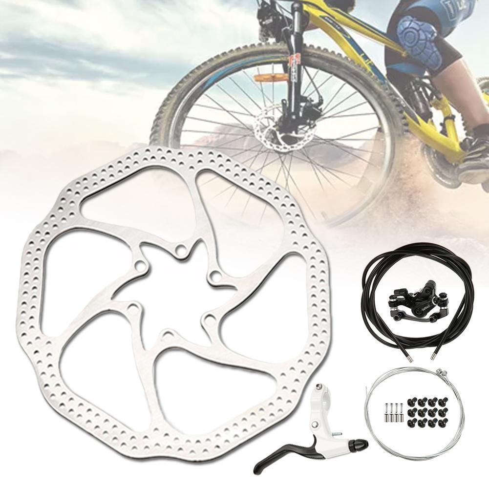 Tbest Pinza de Freno de Bicicleta,1 Par Juego de Frenos de Bicicleta V-Brake Set Aleaci/ón de Aluminio Accesorio de Reparaci/ón de Bicicletas de Carretera de Monta/ña MTB