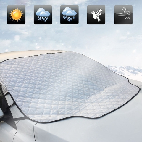 sombra de sol do carro uv para brisas capa protector janela dianteira do carro viseira
