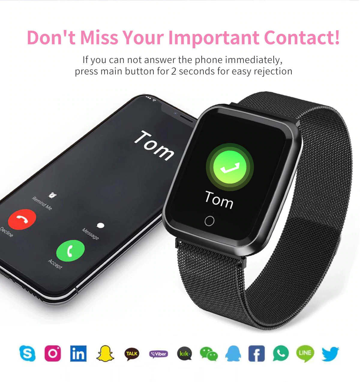 DAROBO N99 Sport and Heart rate monitor Smart watch with Waterproof Blood pressure monitor for men women available in Android IOS 14
