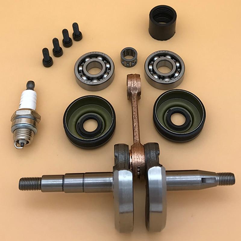Chainsaw Crankshaft Bearing Oil Seal Set For HUSQVARNA 142 141 137 136 Chainsaw Chain Saw Engine Motor Parts 530029794 530056363