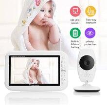 цена на CYSINCOS Color LCD Baby Monitor Wireless Digital Video Display Two-Way Voice intercom Night Vision Temperature Sensing Lullaby