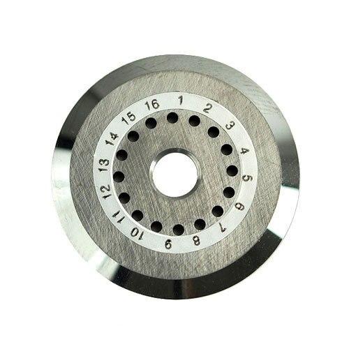 Lâmina de ferramentas de corte de fibra óptica para FC 6S, 12 furos nova lâmina para fibra óptica cleaver FCP 22L feita em china