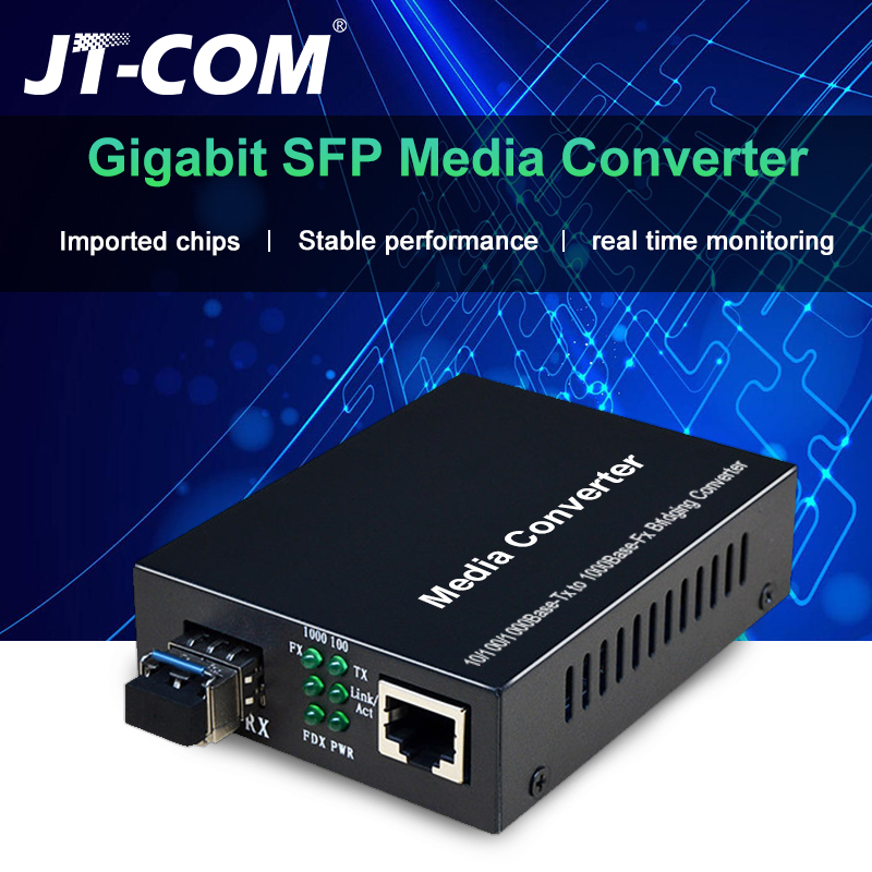 Media-Converter Sfp-Module Fiber-Switch RJ45 1000mbps Mikrotik/huawei To 1GB with Compatible