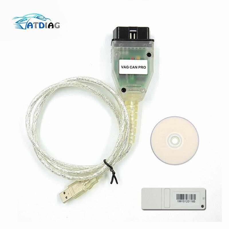 VAG CAN PRO CAN BUS+UDS+K-line S.W Version 5.5.1 VCP Scanner obd 2 car diagnostic scanner tool