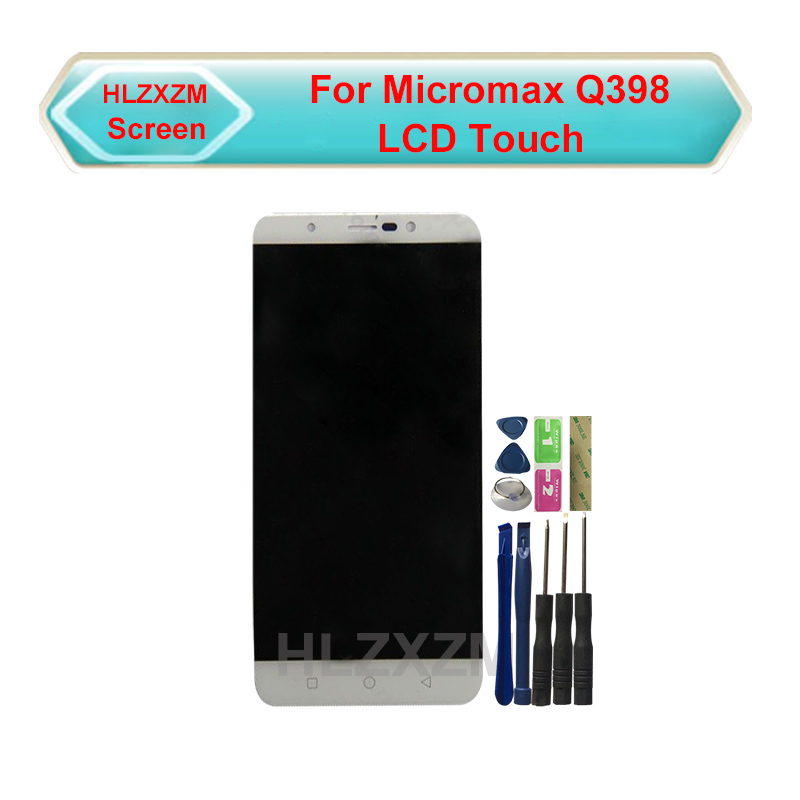 For Micromax Q398 Touch Screen With LCD Display Digitizer Assembly Replacement With Tools|Mobile Phone LCD Screens| |  - title=
