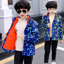 3 in 1 Teenage Winter Jacket Kids Clothes for Children Thick Snowsuits Coat Boys Outdoor Outerwear