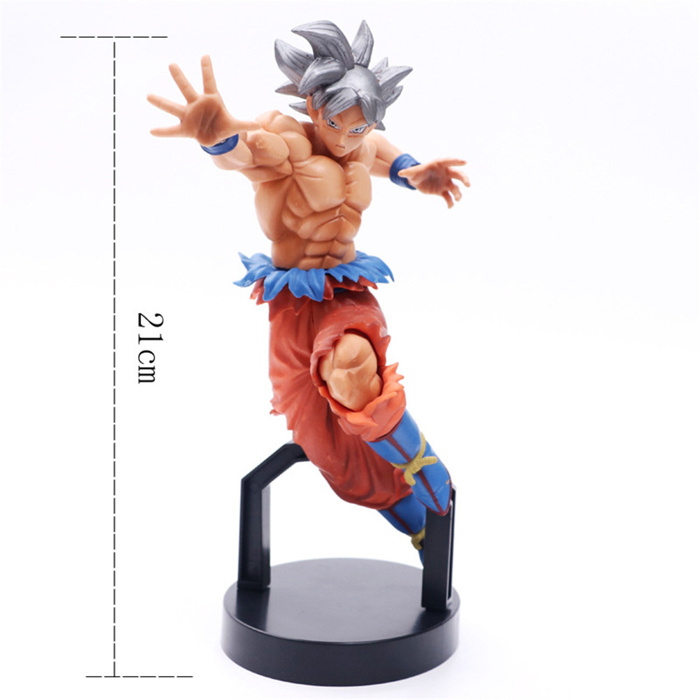 Dragon Ball Z Super Saiyan Ultra instinto Son Goku Anime Action Figures Goku Figurine modello giocattoli in PVC Esferas Del Doll regalo DBZ