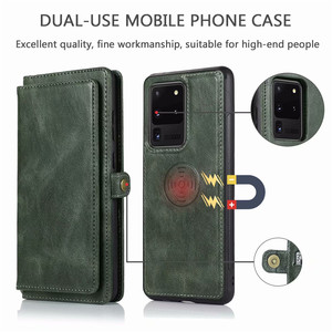 Image 5 - Detachable Flip Leather Wallet Case For Samsung Galaxy S8 S9 S10 E S20 Ultra Note 8 9 10 Plus A10 A20 A30 A40 A50 s A70 A51 A71