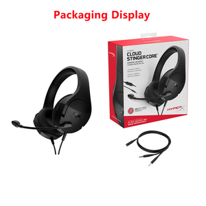 Image 5 - 100% Kingston HyperX Cloud Stinger Core Headphones Wired Gaming Computer Earphone PC/PS4/Xbox One/Mobile/Nintendo Switch Headset