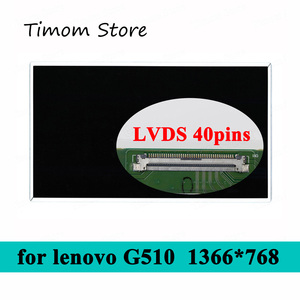 for Lenovo G510 80A8 20238 LCD LED Driver Monitor HD 1366*768 WXGA 40 pins LVDS 15.6 inch Notebook Glossy Matte Flat Screen 60Hz