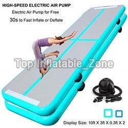 Promotie! 3M Air Track Mat Met Een Gratis Pomp Fabriek Koop Air Track Matten Voor Gymnastiek Populaire Fitness Airtrack/ lucht Vloer