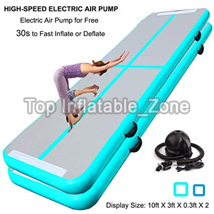 Promotion ! 3M Air Track Mat With One Free Pump Factory Sale Air Track Mats For Gymnastics Popular Fitness Airtrack/Air Floor